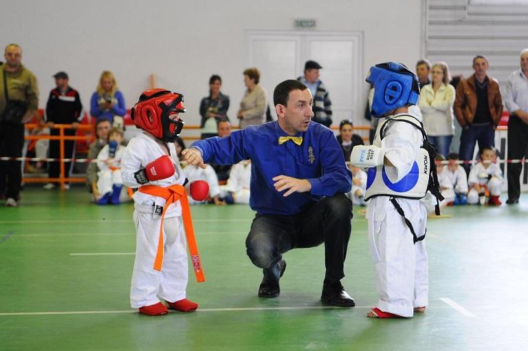 compétition art martial enfants
