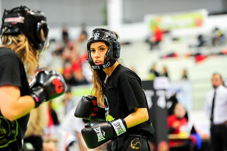 combat de boxe féminin