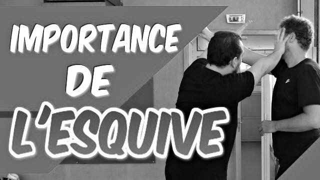 l'importance de l'esquive en self-défense